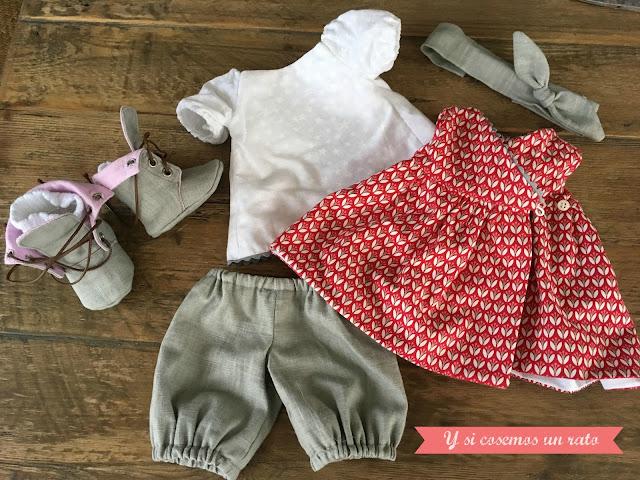 clothes doll, ropa de muñeca,