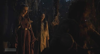 HBO Game of Thrones s05e01: Young Cersei prophecy
