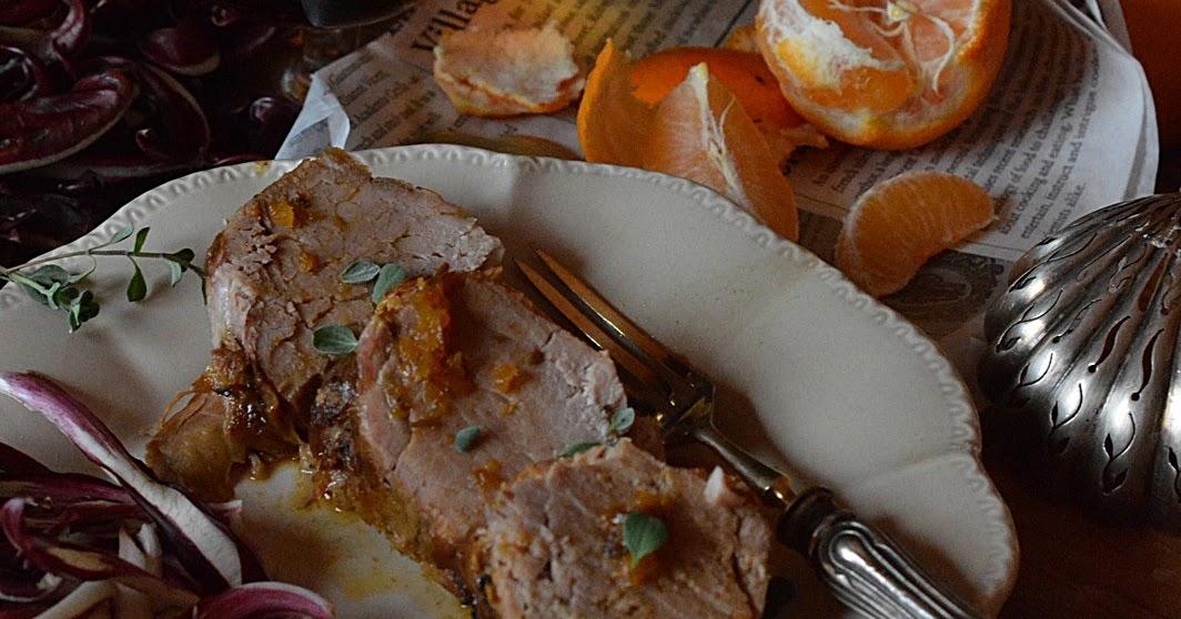 Ti cucino cos filetto di maiale con salsa al mandarino - Filetto di maiale al porto ...