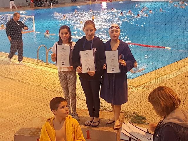 """Επιτυχίες για τους """"Ιπτάμενους"""" στους χειμερινούς αγώνες κολύμβησης"""