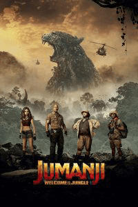 Jumanji: Welcome to the Jungle (2017) Multi Audios (HIN+ENG+TAM+TEL) 720p HDRIP