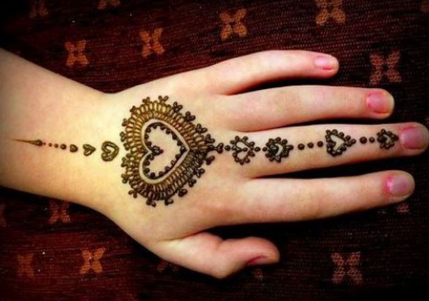15 Easy Mehndi Designs For Your Kid39s Hands  Bling Sparkle
