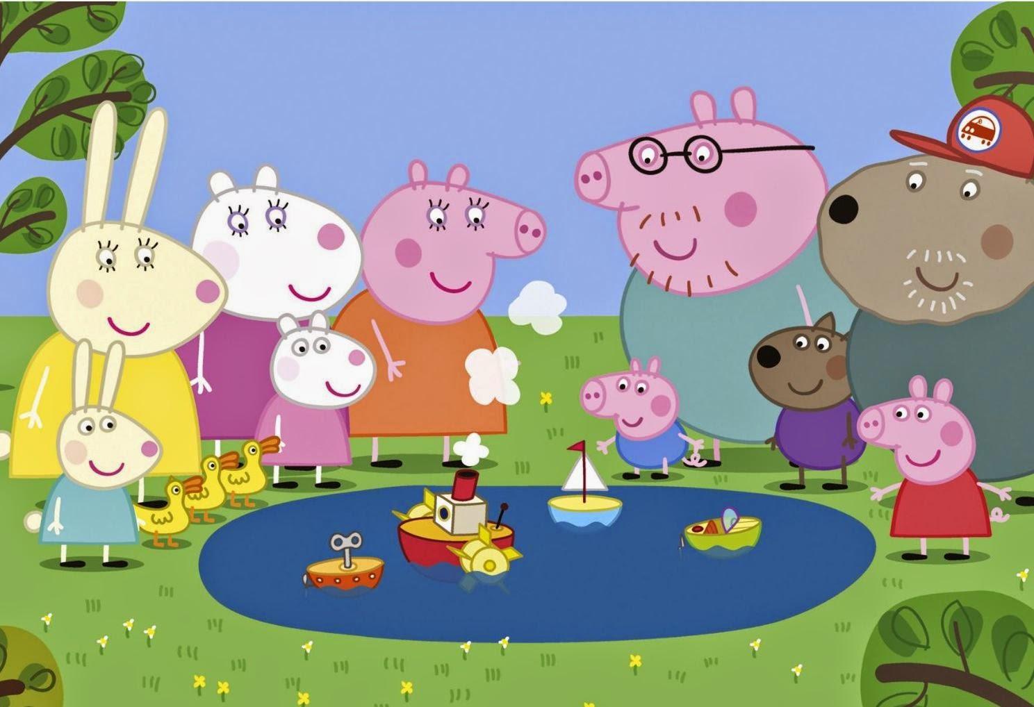 Lembrancinhas Peppa Pig George.