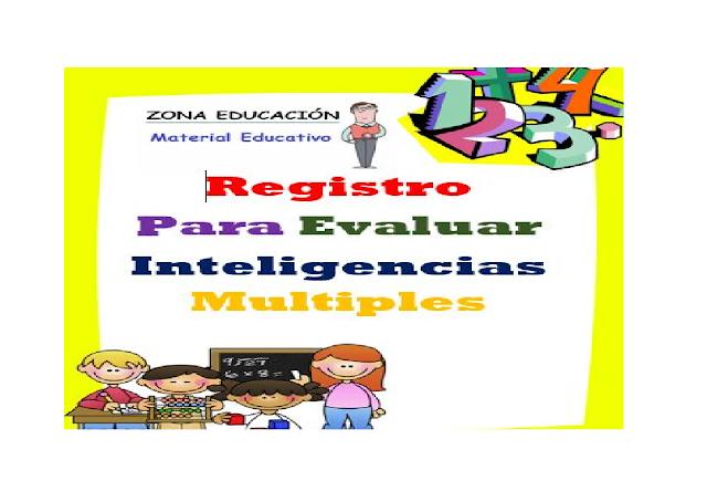 test,formatos,primaria,niños