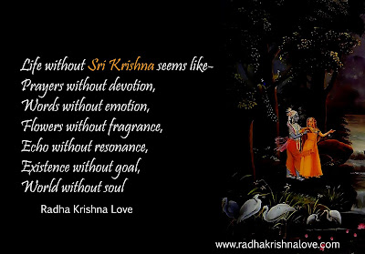 Radha Krishna Love Quotes In Hindi With Images Radha Krishna Love