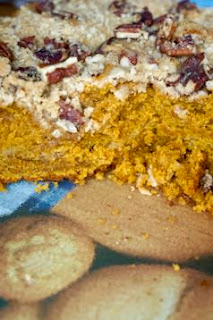 Pumpkin Streusel Coffee Cake: Savory Sweet and Satisfying