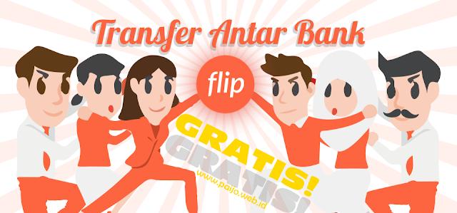 Cara Aman dan Mudah Transfer Antar Bank Secara Gratis Via Flip.id