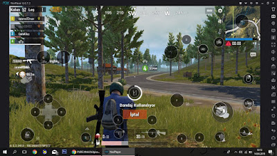 pubg mobile non player emülator