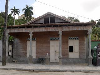 Holzhaus in Baracoa, Kuba