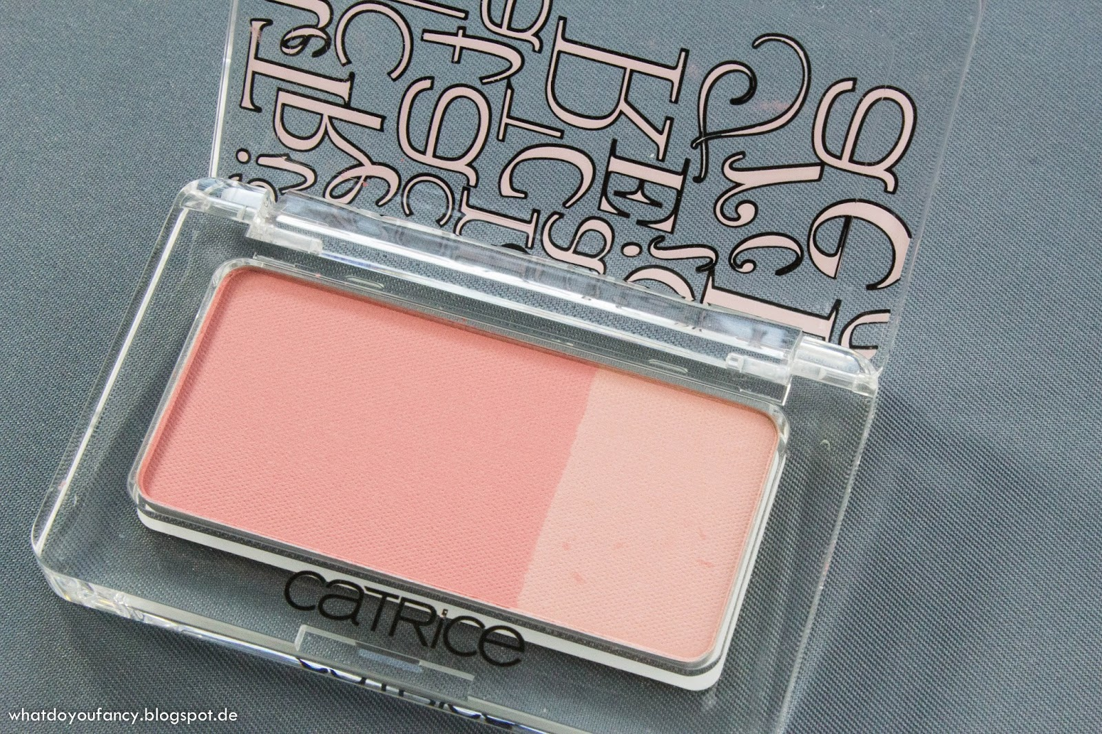 "Catrice ""Une, deux, trois"" Defining Duo Blush in C05 Meet Nudy"