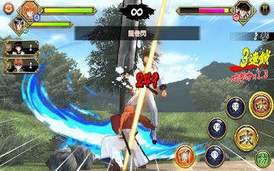 Rurouni Kenshin (Samurai X) v1.0.7 Apk Android Terbaru