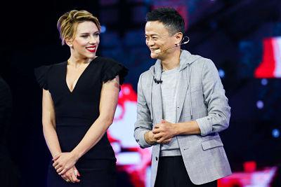 Scarlett Johansson – Tmall 11:11 Global Shopping Festival Gala in Shenzhen