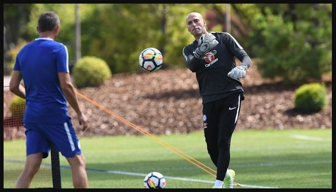 Willy Caballero chelsea jersey