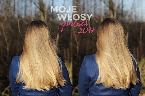 Moje włosy - grudzień 2017 | Piramida pielęgnacji - czytaj dalej »