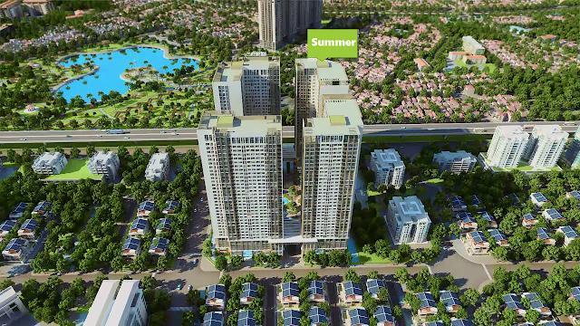 Tòa nhà Summer Chung cư Eco Green City
