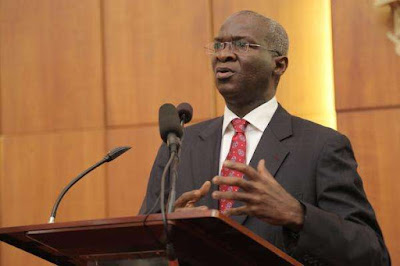 Minister of Power, Works and Housing, fashola