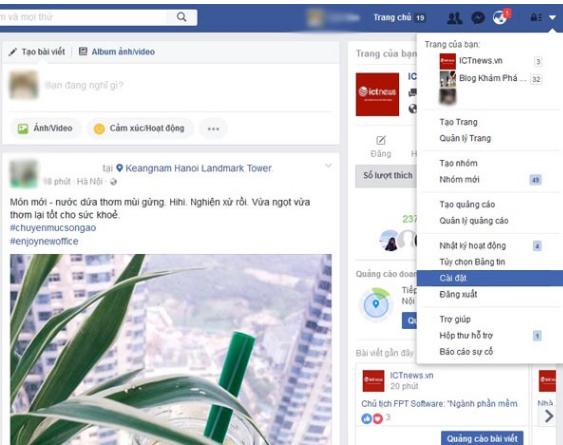 Chon cai dat de bat nut theo doi tren facebook