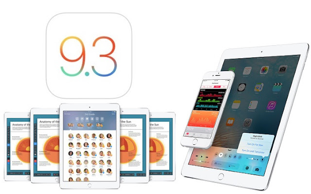 Apple iOS 9.3 IPSW Download Links