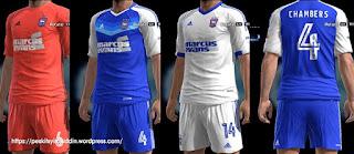 Ipswich Town kits 2016-2017 Pes 2013