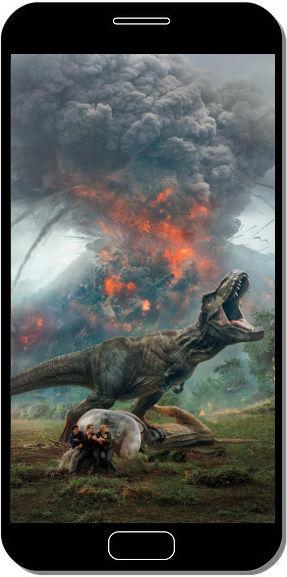 Jurassic World Fallen Kingdom 2018 - Fond d'Écran en FHD pour Mobile