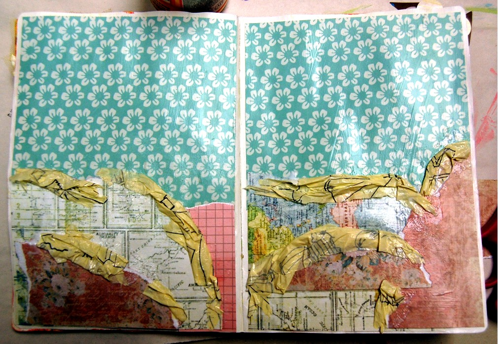 Art Journal Background Tutorial Want2scrap