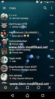 BBM Mod Transparant Yellow v3.1.0.13 Apk Terbaru