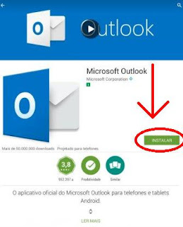 Fazer e-mail Hotmail instalando o Microsoft Outlook