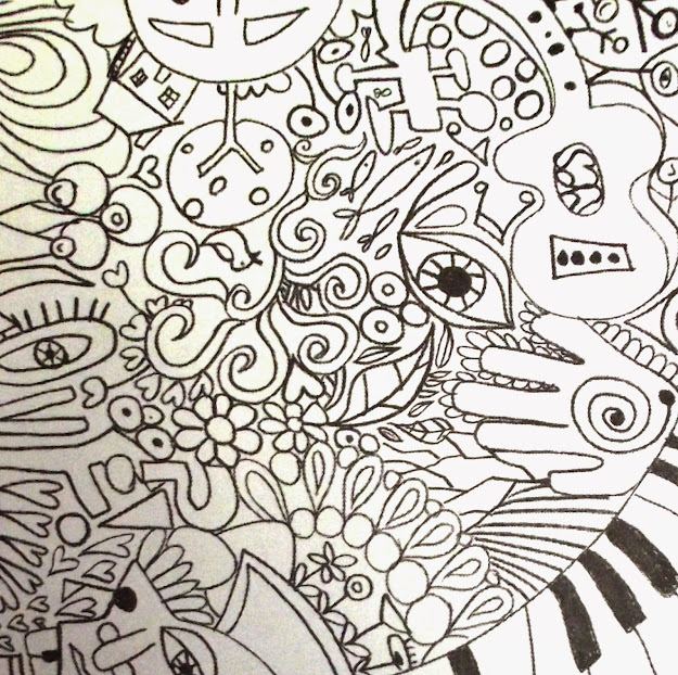 Abstract Coloring Pages For Teenagers Difficult Coloring Pages For