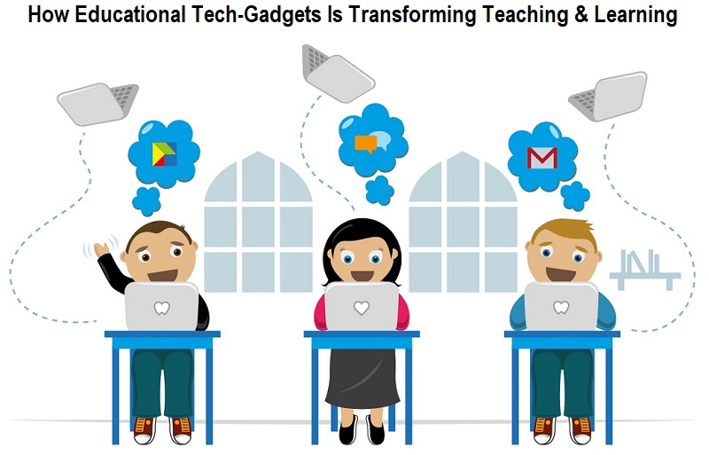 How Educational Tech-Gadgets Is Transforming Teaching & Learning