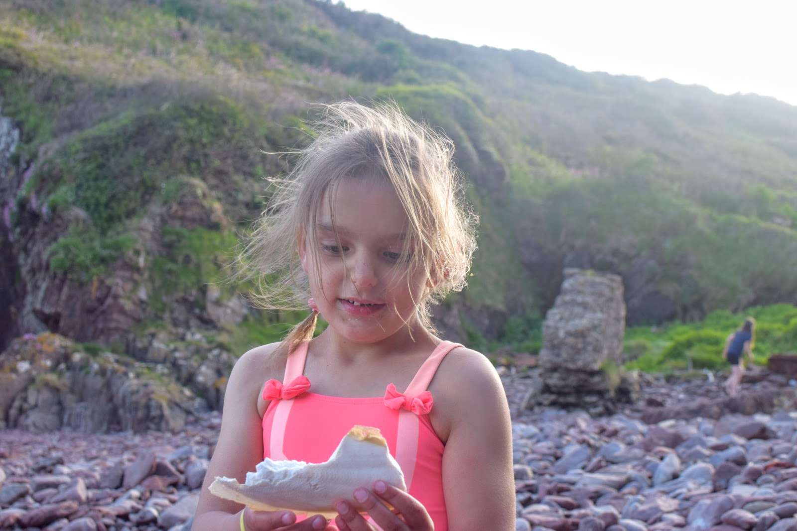 , Exploring Mill Bay, Dale, Pembrokeshire