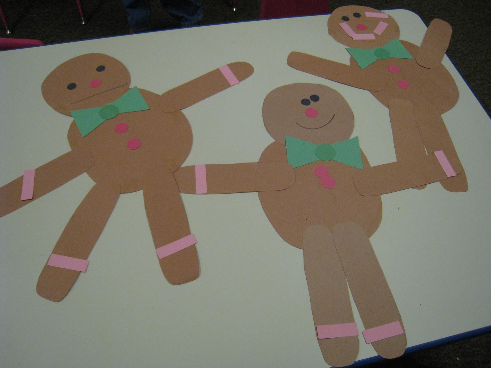 Mrs Russell S Class Gingerbread Fun