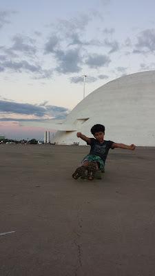 skate no Museu da República, Brasília