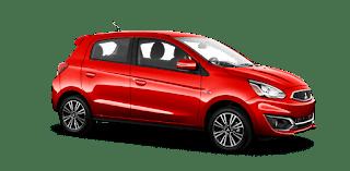Harga dan Kredit Mitsubishi Mirage Pekanbaru Riau September 2018