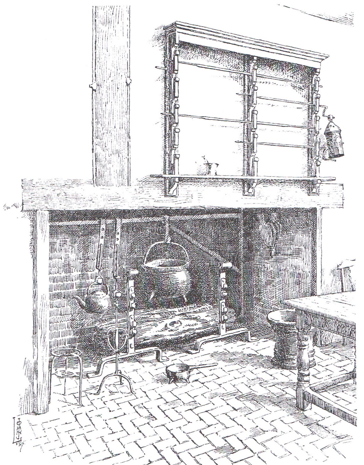 Heroeses And History Colonial Kitchens