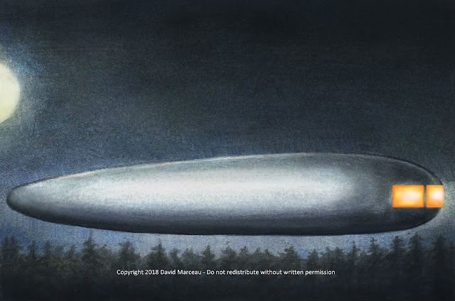 The Marceau Ship a.k.a. The Gagetown UFO