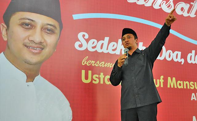 Ustaz Yusuf Mansur: Ketika UAS Difitnah, Kami Kuatkan Beliau