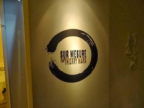 Restaurant Sur Mesure de Thierry Marx au Mandarin Oriental.