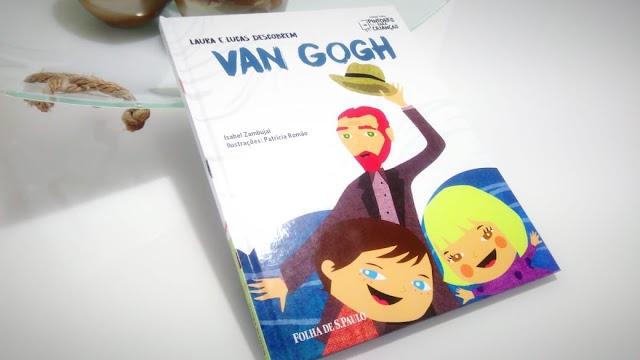 [RESENHA #618] COLEÇÃO FOLHA PINTORES PARA CRIANÇAS - VOL. 04: VAN GOGH