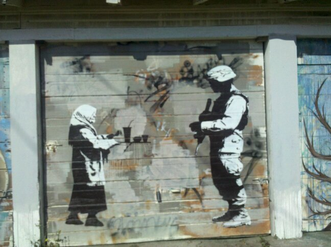 The Gallerista Banksy Is Graffiti Art The New Political
