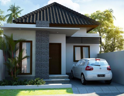Property Mus Model Minimalist Simple Plan Design Type 36
