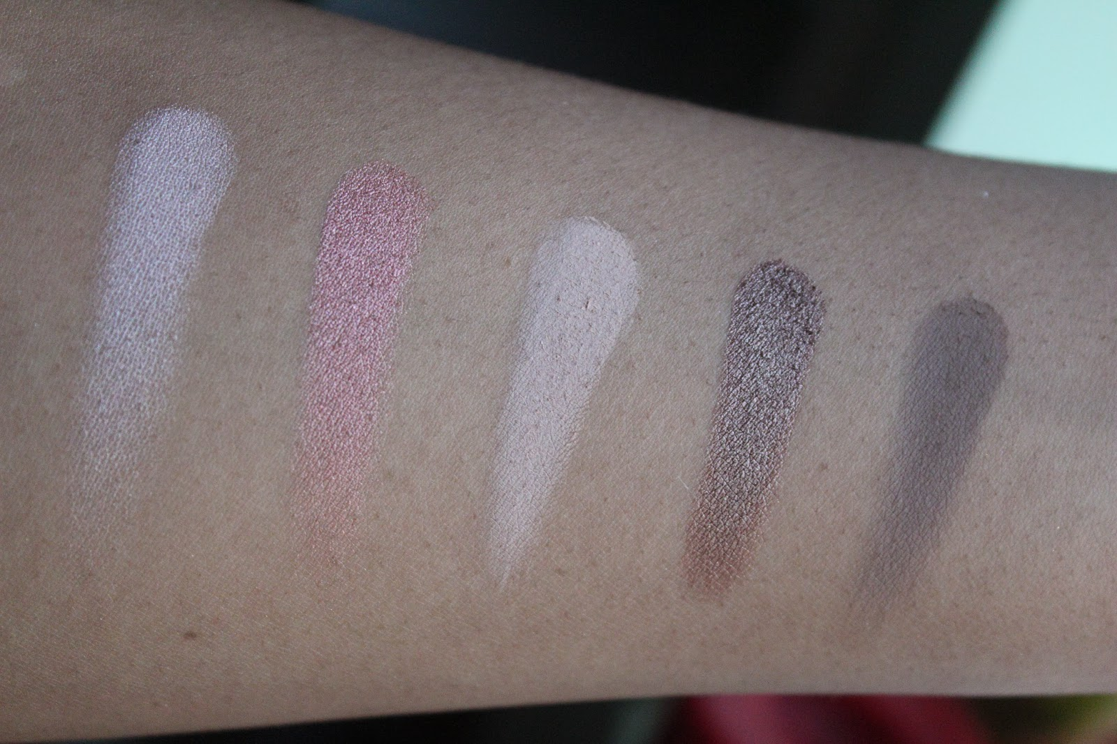 Urban Decay Vice 2 Swatches; Dope, Toxic, Habit, Ambush & Rewind