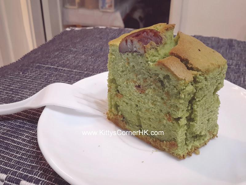 Pecan Green Tea Cake DIY recipe 碧根核桃綠茶蛋糕 自家烘焙食譜