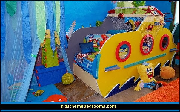 Decorating Theme Bedrooms Maries Manor Sponge Bob