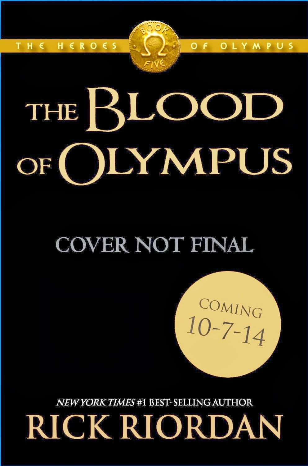 The Heroes of Olympus: The Blood of Olympus by Rick Riordan