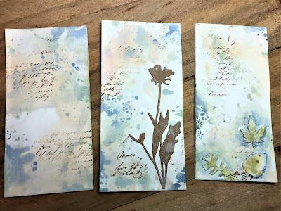Sara Emily Barker http://sarascloset1.blogspot.com/ Field Notes Mini Album 3D Texture Fade Lumber 11