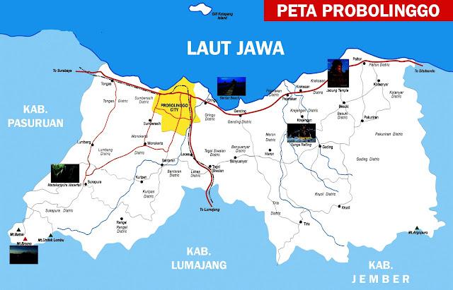 Probolinggo yakni salah satu kabupaten yang masuk dalam wilayah Provinsi Jawa Timur Peta Probolinggo Lengkap 29 Kecamatan