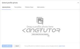 cara mengganti photo profil email gmail