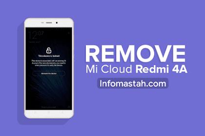 Cara Jitu Remove MiCloud Xiaomi Redmi 4A ( Rolex )