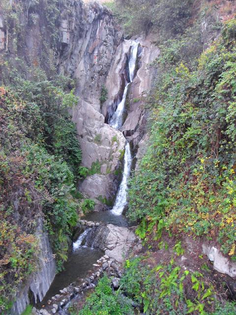 Cascada de Mortero