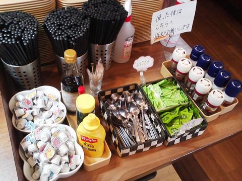 ビュッフェコーナー:調味料 ステーキガスト一宮尾西店3回目